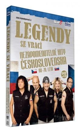 Legendy se vrací - Nezapomenutelné hity Československa CD+DVD