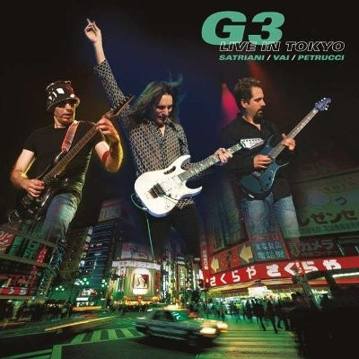 Joe Satriani, Steve Vai, John Petrucci - G3 - Live In Tokyo (Reedice 2014)