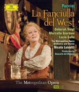 Puccini, Giacomo - PUCCINI La fanciulla del West Voigt Giordani Blu-r