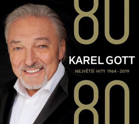 Karel Gott - 80/80 Největší hity 1964-2019 (4CD, 2019)
