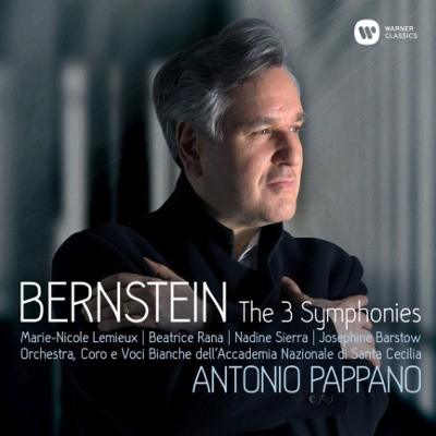 Leonard Bernstein / Antonio Pappano - Symfonie Č. 1-3 (2CD, 2018)