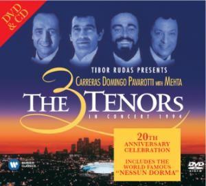 Tří tenoři - Three Tennors On Concert 1994/DVD+CD CD+DVD