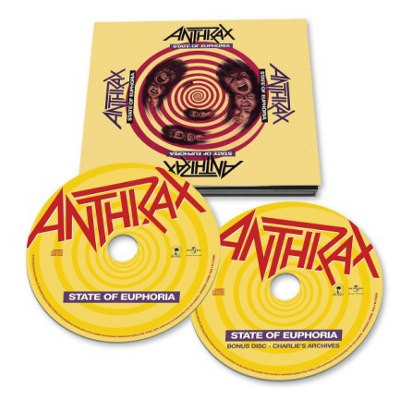 Anthrax - State Of Euphoria (30th Anniversary Edition 2018)