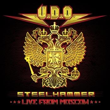 U.D.O. - Steelhammer-Live In Moscow/2CD+BRD CD OBAL