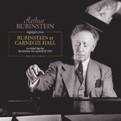 Arthur Rubinstein - Highlights From Rubenstein At Carnegie Hall (Edice 2016) - Vinyl