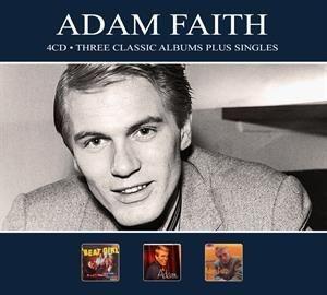 Adam Faith - Three Classic Albums.. .. Plus Singles (2018)
