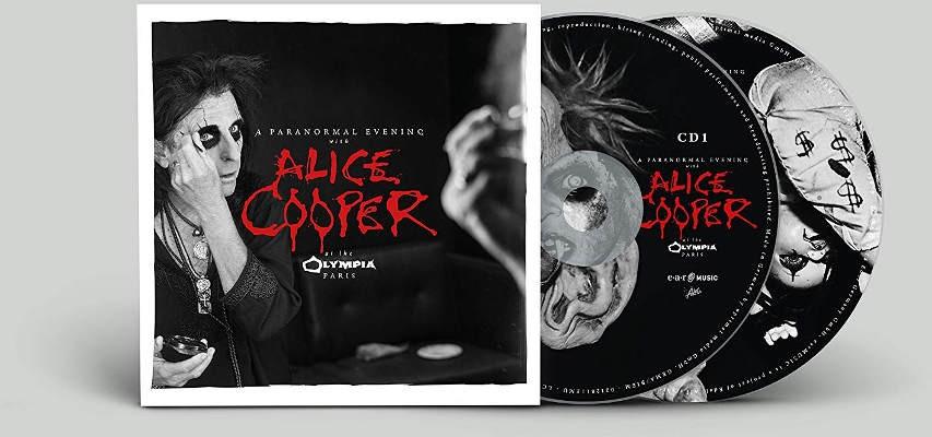 Alice Cooper - Paranormal Evening At The Olympia Paris (Digipack, 2018) PARIS