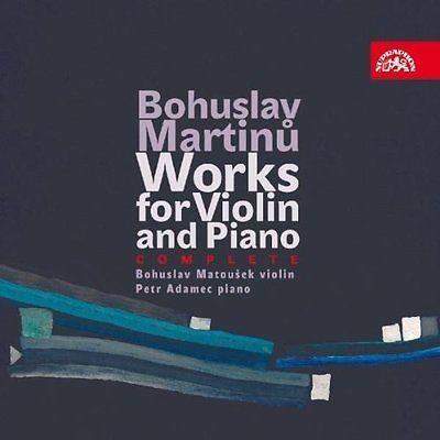 Bohuslav Martinů - Works For Violin And Piano