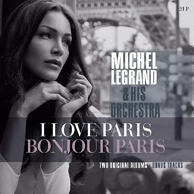 Michel Legrand - I Love Paris / Bonjour Paris (Edice 2018) - Vinyl