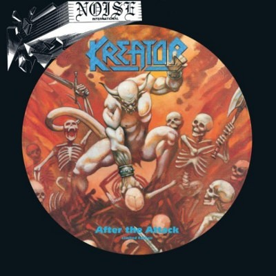 Kreator - After The Attack (Limited Picture Vinyl, Edice 2018) - Vinyl