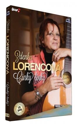 Zdenka Lorencová - Cinky linky CD+DVD