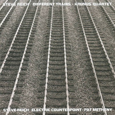 Steve Reich - Different Trains / Electric Counterpoint (Reedice 2018) - Vinyl