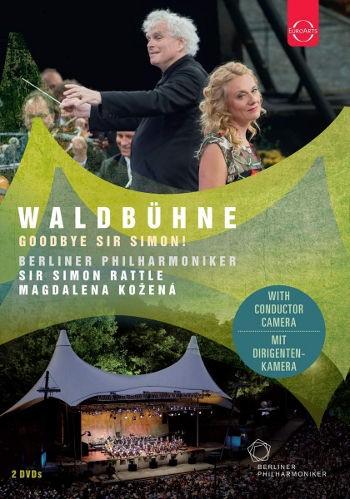Berlínští filharmonici, Magdalena Kožená, Simon Rattle - EuroArts - Waldbühne 2018 - Goodbye Sir Simon! (2DVD, 2018)