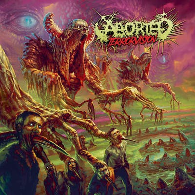 Aborted - TerrorVision (LP+CD, 2018) /Limited Edition