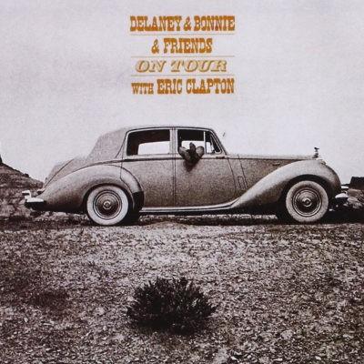 Delaney Bramlett & Bonnie Bramlett & Friends With Eric Clapton - On Tour (Edice 1990)