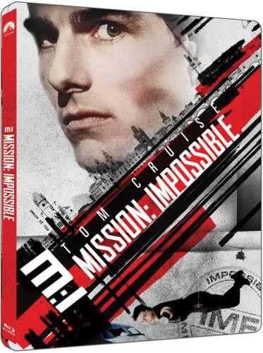 Film/Akční - Mission: Impossible (2Blu-ray UHD+BD) - steellbook