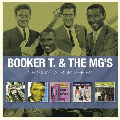 Booker T. & The MG's - Original Album Series (5CD, 2012)