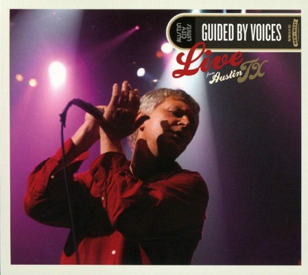 Guided By Voices - Live From Austin TX (2CD+DVD, Edice 2017)