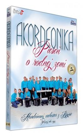 Akordeonika - Pieseň o rodnej zemi CD+DVD