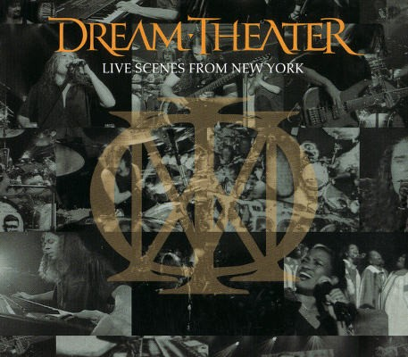 Dream Theater - Live Scenes From New York (3CD, 2001)