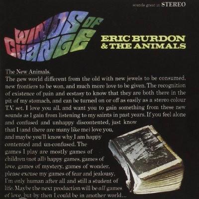 Eric Burdon & The Animals - Winds Of Change (Edice 2006)