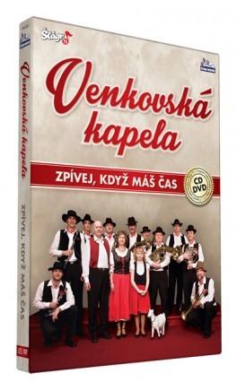 Venkovská kapela - Zpívej když máš čas/CD+DVD