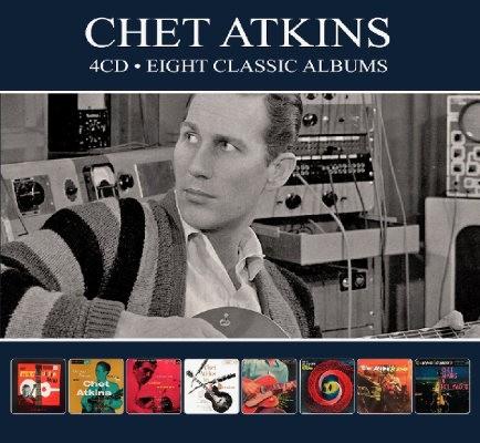 Chet Atkins - 8 Classic Albums (4CD, Digipack 2018)