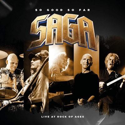 Saga - So Good So Far - Live At Rock Of Ages (2CD+DVD, 2018) 2CD+DVD