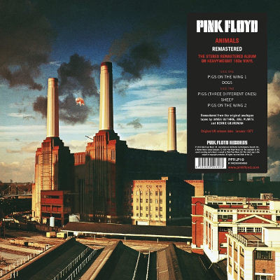 Pink Floyd - Animals (Remastered 2011, Edice 2016) - 180 gr. Vinyl