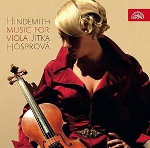 Jitka Hosprová - Hindemith: Music For Viola (2014)
