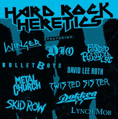 Various Artists - Hard Rock Heretics (Limited Coloured Vinyl, Reedice 2018) – Vinyl