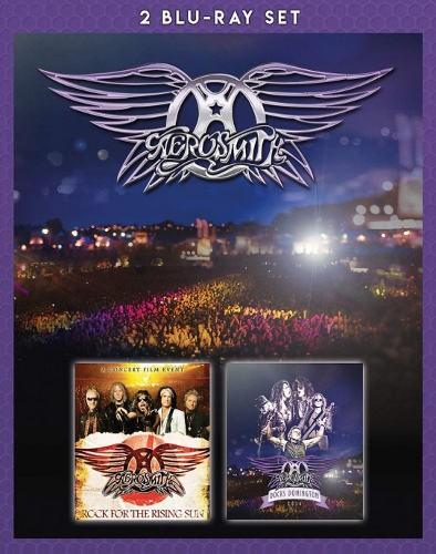 Aerosmith - Rock For The Rising Sun + Rocks Donington (2Blu-ray, Edice 2018)