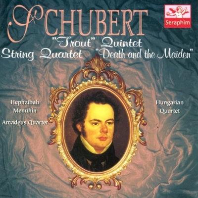 "Franz Schubert - Trout Quintet / Smyčcový Kvartet – Smrt A Dívka (Edice 1999) ""DEATH AND THE MAIDEN"""