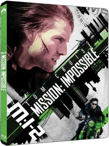 Film/Akční - Mission: Impossible 2 (2Blu-ray UHD+BD) - steellbook