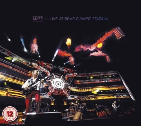 Muse - Live at Rome Olympic Stadium 2013 CD+BRD