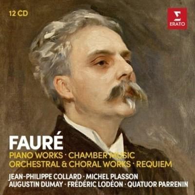 Gabriel Fauré / Michel Plasson - Klavírní Dílo, Komorní Hudba (12CD BOX, 2018)