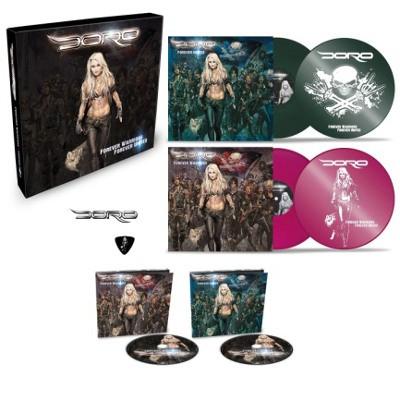 Doro - Forever Warriors, Forever United (4LP+2CD BOX, 2018) 4LP+2CD