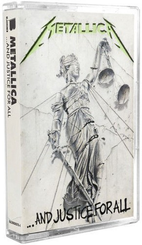 Metallica - ...And Justice For All (Kazeta, Limitovaná Edice 2018)