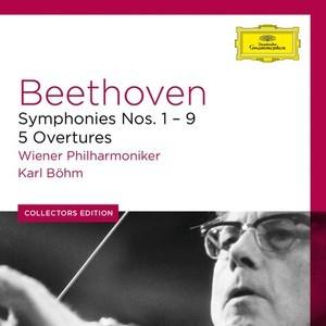 Ludwig van Beethoven -  Karl Böhm - 9 Symphonies, 5 Overtures · Ouvertüren