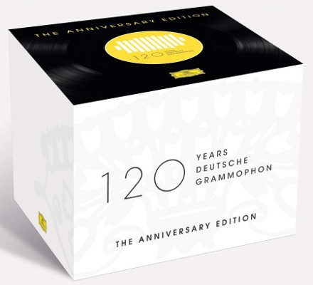 Various Artists - 120 Years Of Deutsche Grammophon: Anniversary Edition (121CD+Blu-ray Audio BOX)