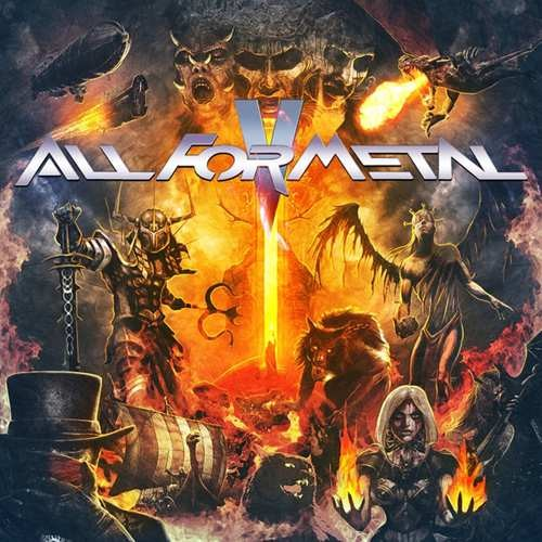 Various Artists - All For Metal 5 / DVD+CD (2018)