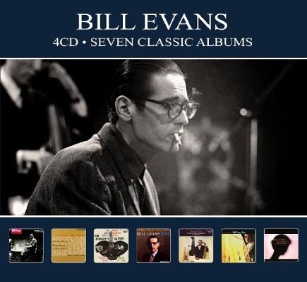 Bill Evans - 7 Classic Albums (4CD, Digipack 2018)