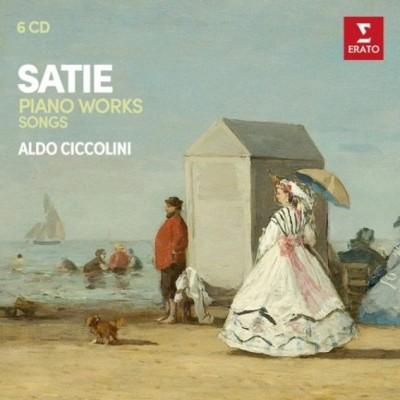 Erik Satie / Aldo Ciccolini - Klavírní Dílo – Komplet Č. 2 (6CD, 2018)