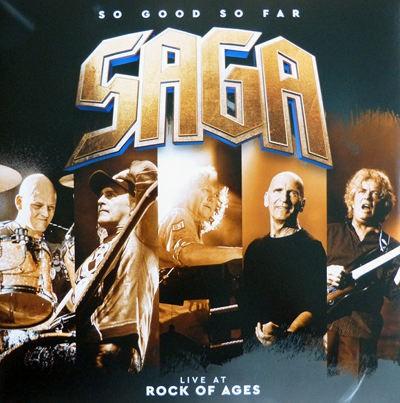 Saga - So Good So Far - Live At Rock Of Ages (2018) - Vinyl