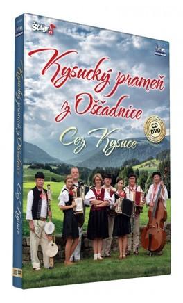 Kysucký prameň - Cez Kysuce/CD+DVD
