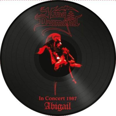 King Diamond - In Concert 1987 Abigail (Limited Picture Vinyl, Edice 2018) – Vinyl