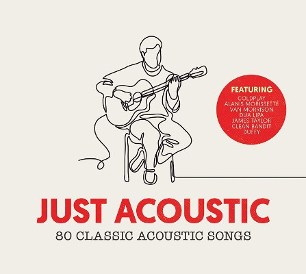 Various Artists - Just Acoustic (4CD BOX 2018)