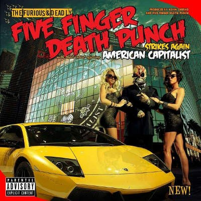 Five Finger Death Punch - American Capitalist (Deluxe Edition 2018)
