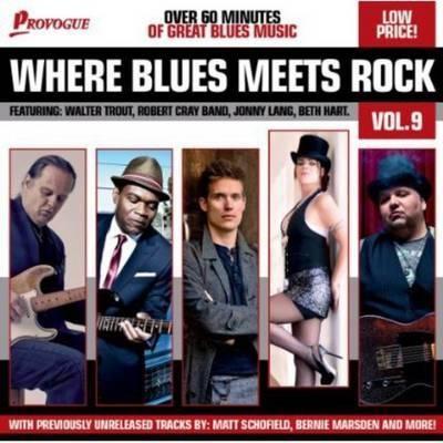 Various Artists - Where Blues Meets Rock Vol. 9 (2014)