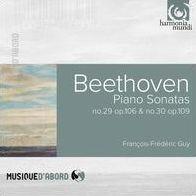 Ludwig van Beethoven - Piano Sonatas Nos. 29 & 30 / François-Frederic Guy